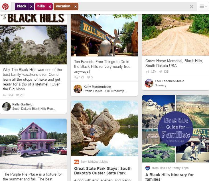 black hills pinterest