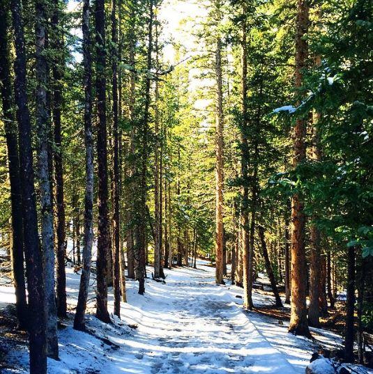 trail echo lake