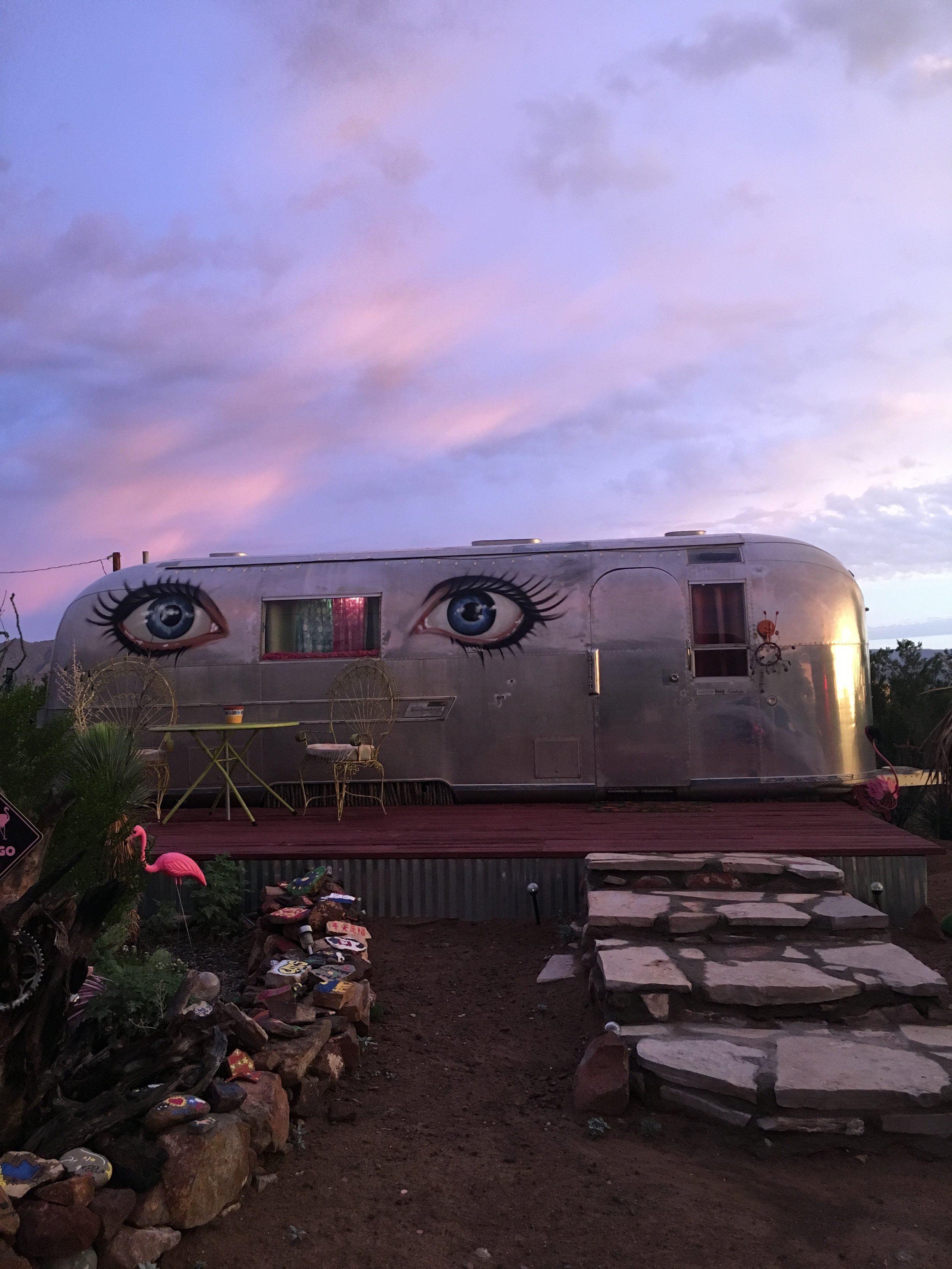 sunrise airstream