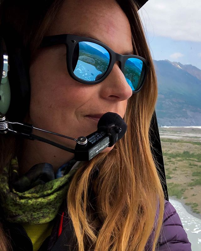 I've always been afraid of heights. A nervous flyer. But, less than 24 hours in Alaska, I somehow found myself inside a helicopter high above a massive glacier below. ⁣ ⁣ But I didn't feel afraid. In fact, I felt an overwhelming sense of peace. Of awe. Inspiration. Might have cried a little. But not afraid. I did the day before. The week before, even. ⁣ ⁣ That's the thing about courage — you wouldn't be courageous if you weren't afraid sometimes. Brave if you weren't nervous. ⁣ ⁣ I've driven across the country and to nearly every state alone countless times. Hiked and camped alone in 47 major US national parks and countless other parks and monuments. And I'm afraid all the time. Even after all of that. ⁣ ⁣ But that's what makes me brave — I do it anyway. And I'm so glad I did. ⁣ ⁣ @revo @roam #ExperienceOurView #REVO