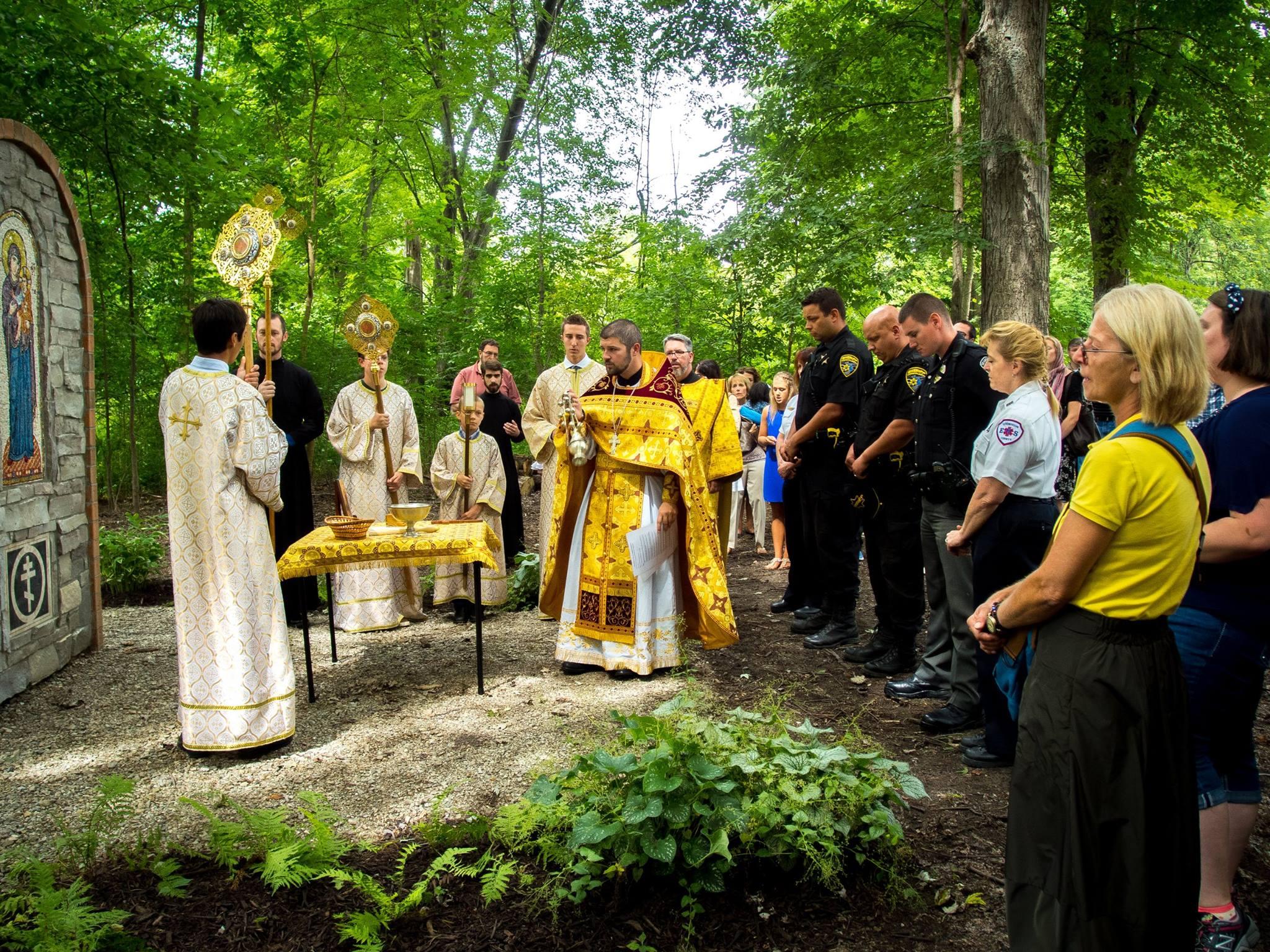 Blessing By the Shrine.jpg