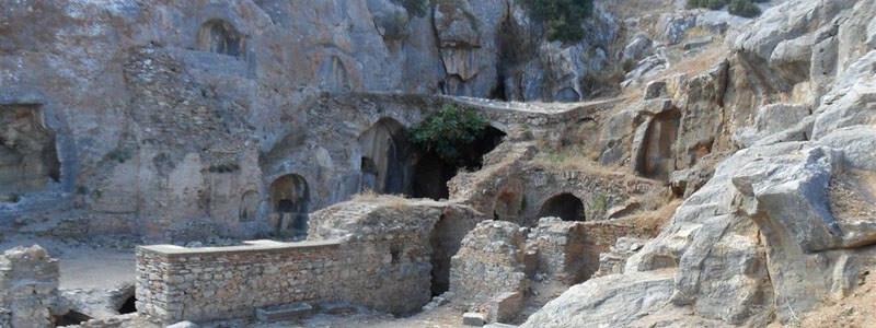 Excavated Church of the Seven Sleepers - Ephesus