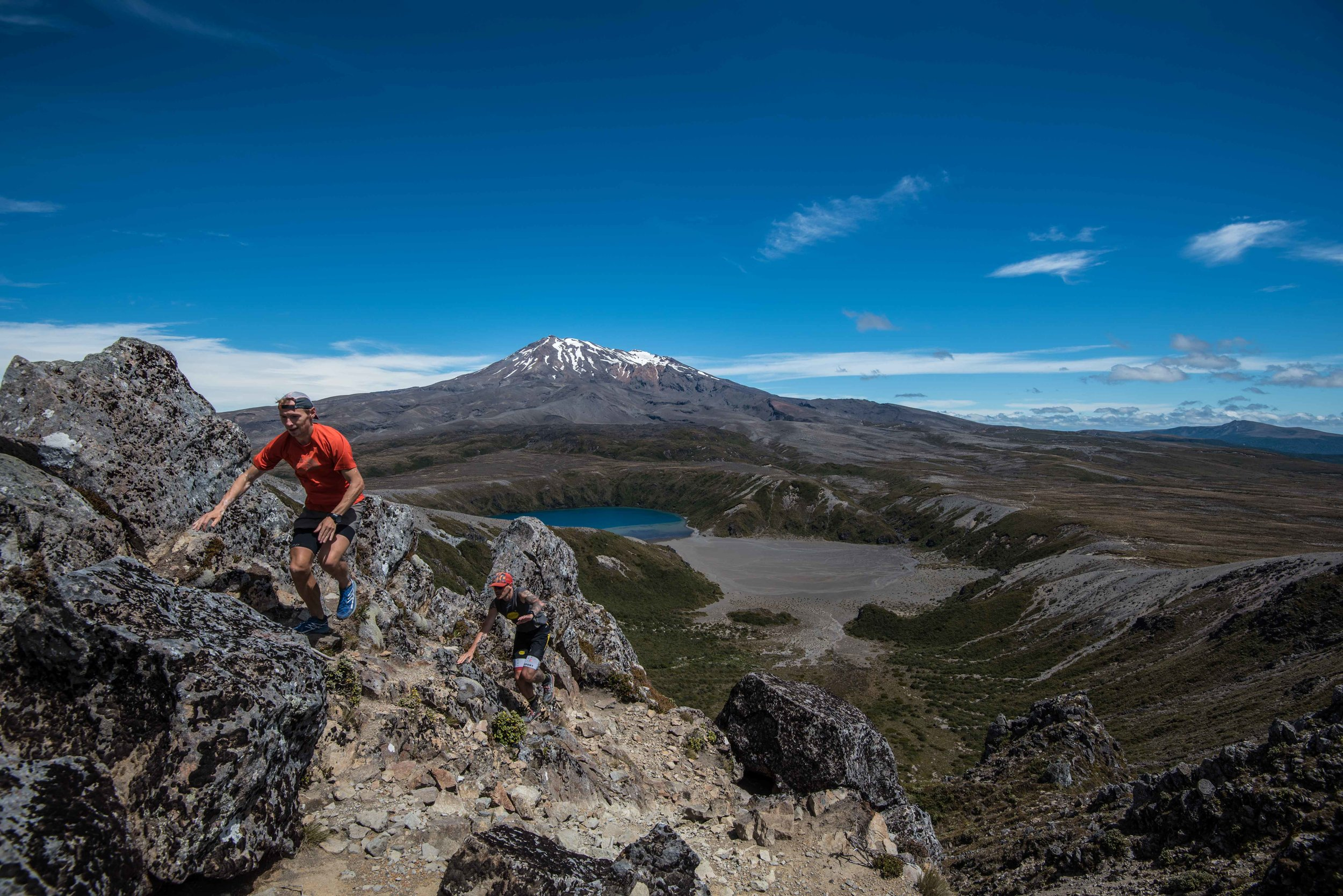Exploring Tongariro National Park (NZ) with Gediminas Grinius