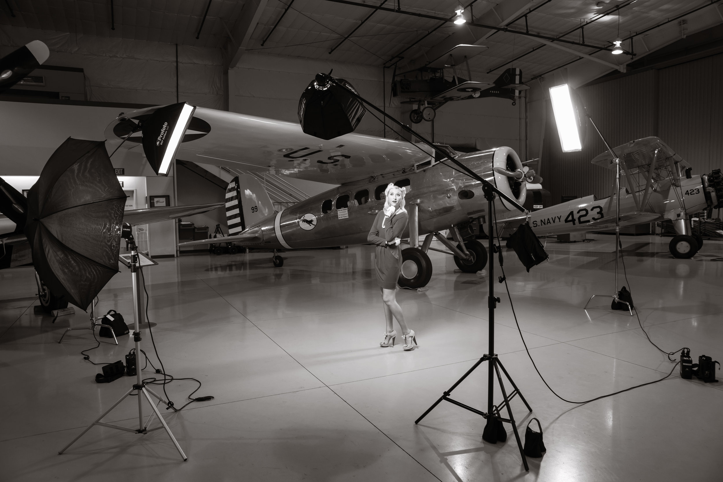 Setting the stage with Profoto B2 Lighting Kits and OCF Light modifiers.