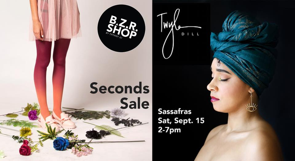 Shop deals on slightly imperfect or discontinued BZR tights alongside discontinued styles of Twyla Dill jewelry!
