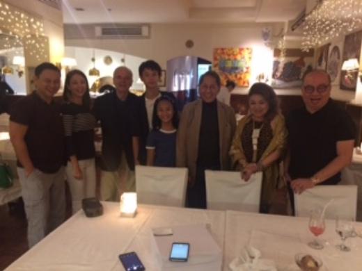 SENATOR ANGARA AND FAMILY WITH MR.EMILIO MINA