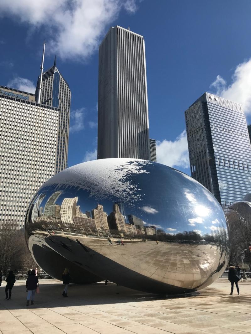 cloud gate the bean chicago