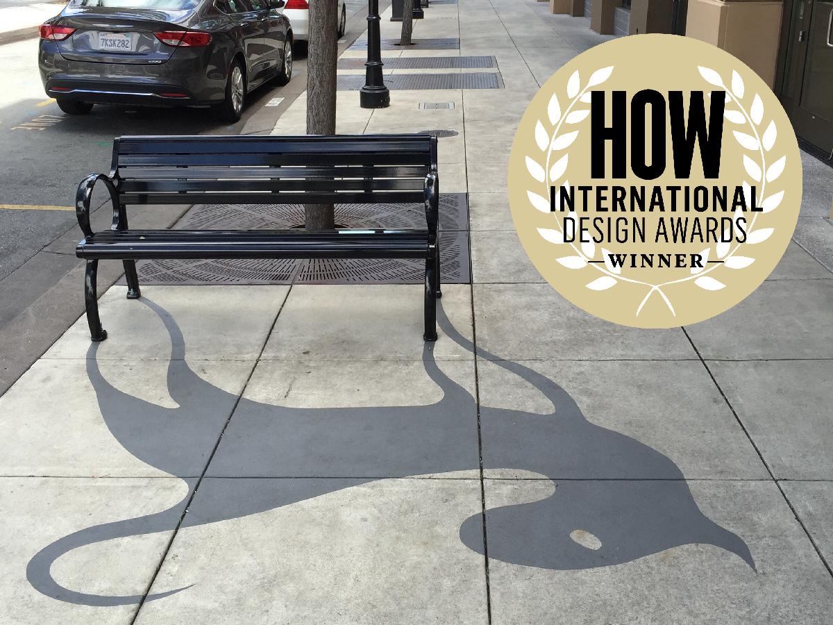 Redwood City Shadow Art Project