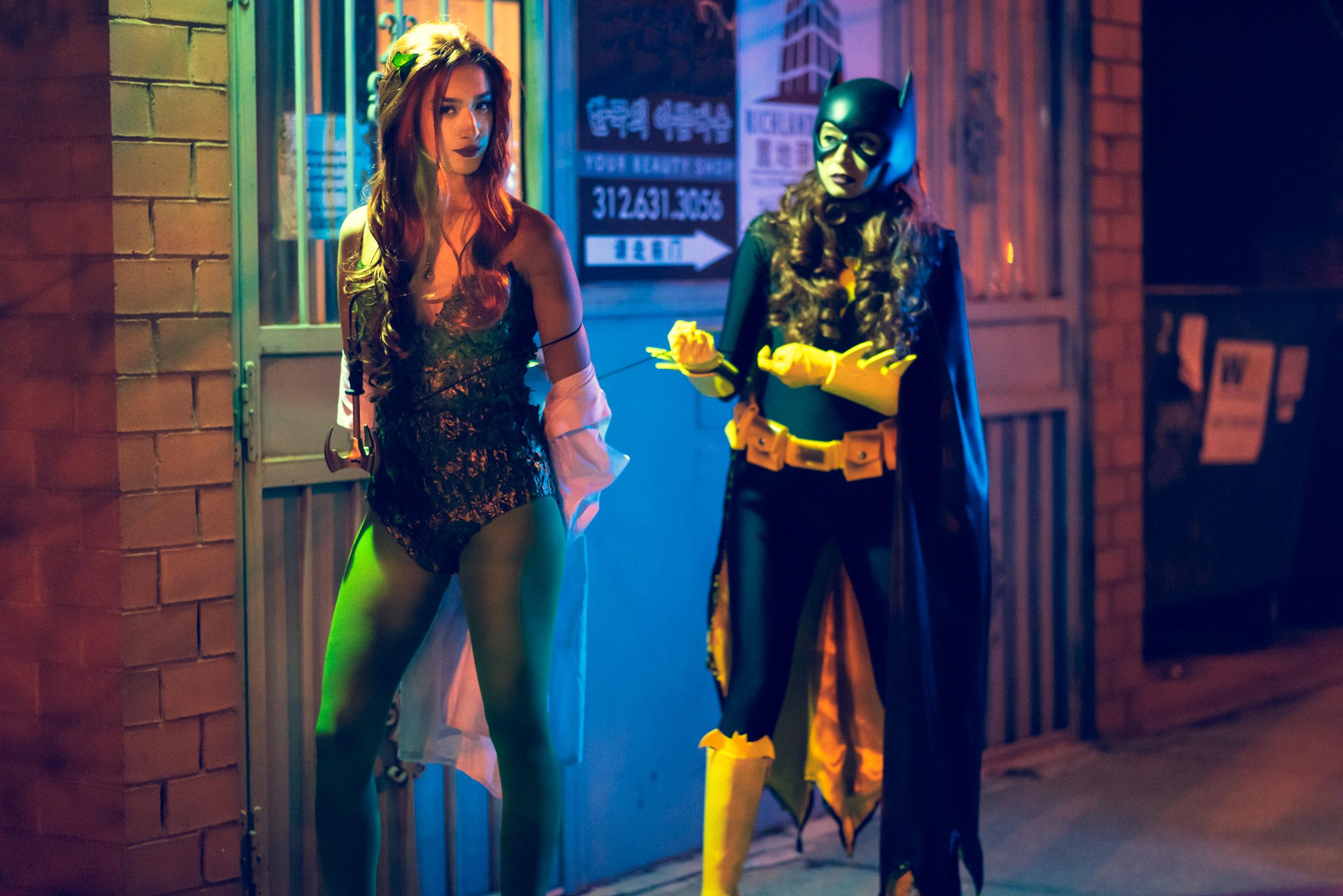 Batgirl & Poison Ivy