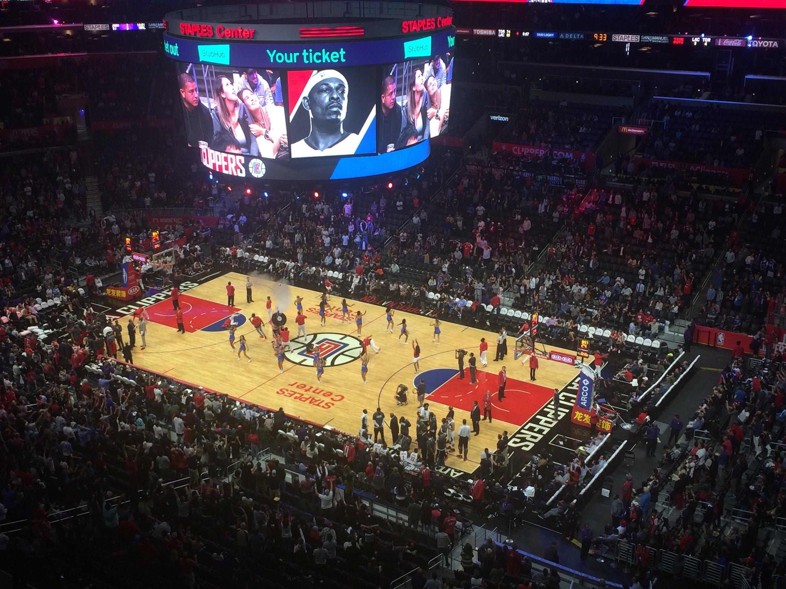 Staples Center (Clippers vs. Raptors)