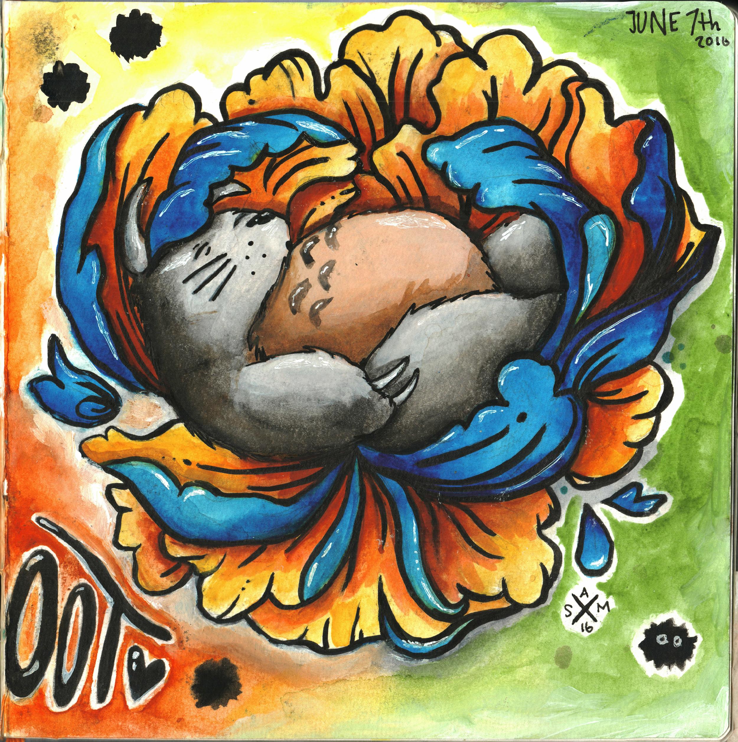 """Sketchbook - """"Totoro"""""""