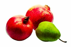 Pear Pomegranate