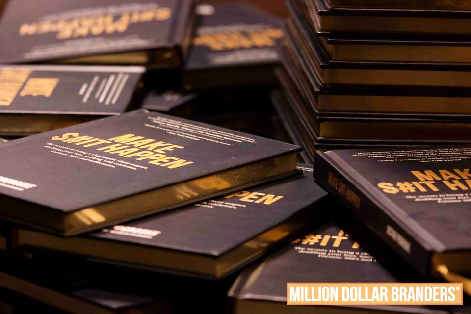 BOOK LAUNCH - Make S#it Happenby Justine Progroske, CEO of Million Dollar BrandersEVENT COORDINATION