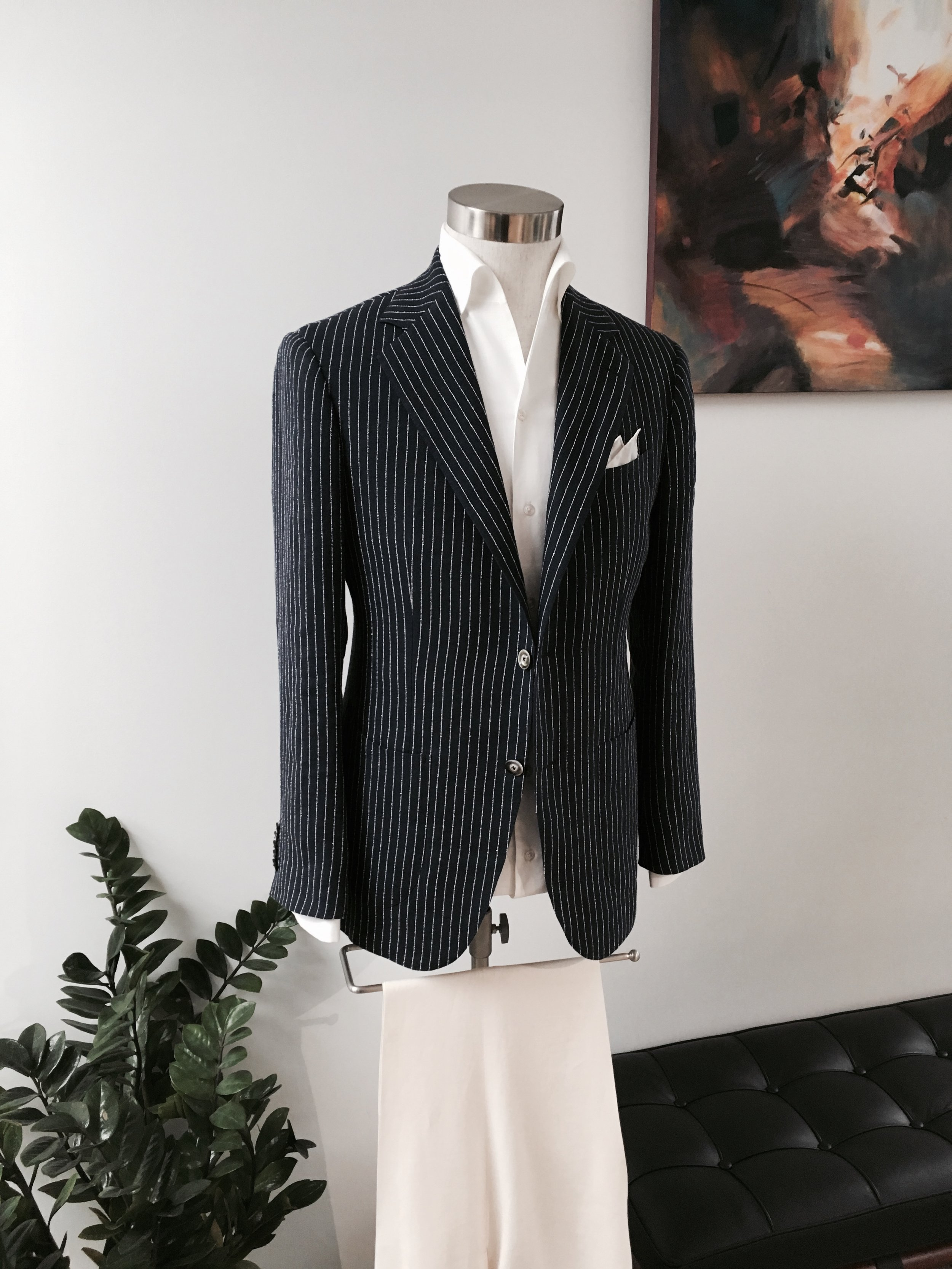 Summer Linen Leisure Wear     (Available in Made to Order at Lane Crawford, IFC)
