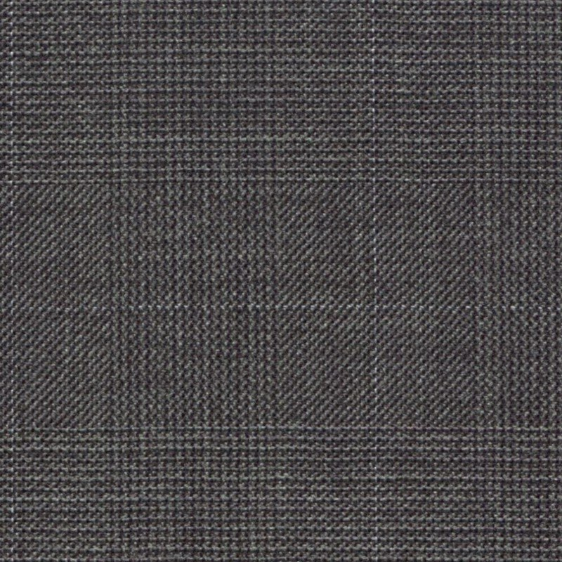 Deep Grey Glencheck