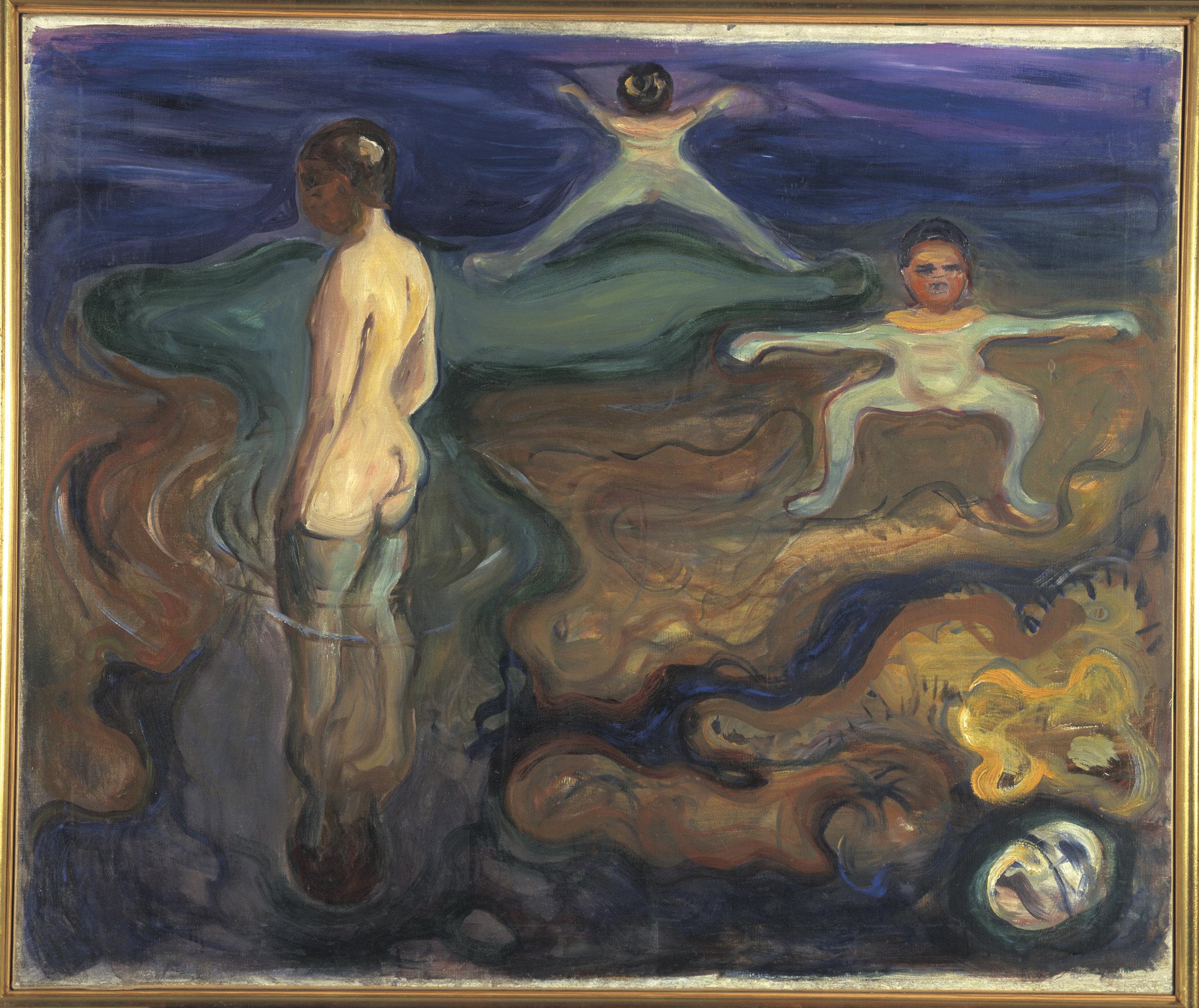 Bathing Boys (1897-98) ©Munchmuseet