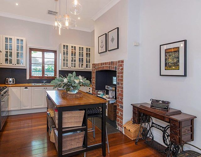 Home of Little Laughing Bells ❤️ Beautiful cottage renovated with so so so much love close to everything on the Vic Park strip up for sale 😍  PM me for the link 😊  So nice having an excuse to create Little Laughing Bells for my own home ❤️