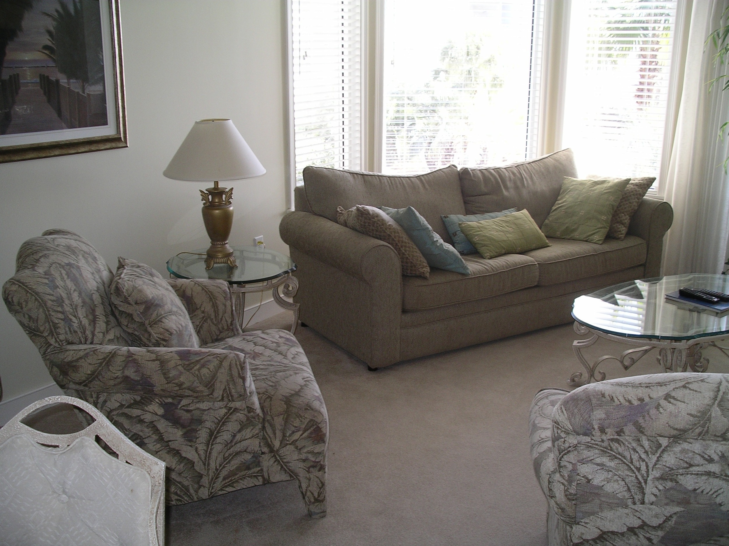 Sea Crest Villa Staging