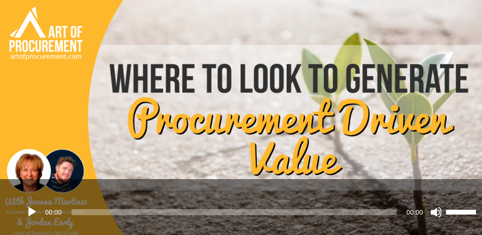 Podcast - Art of Procurement -