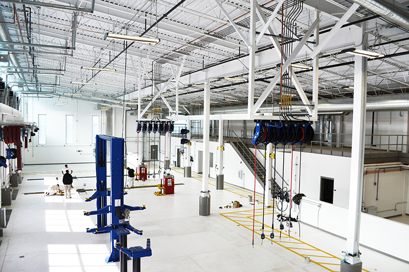 Hyder Wrapping Up Greenwood Village Maintenance Facility   January 14, 2016