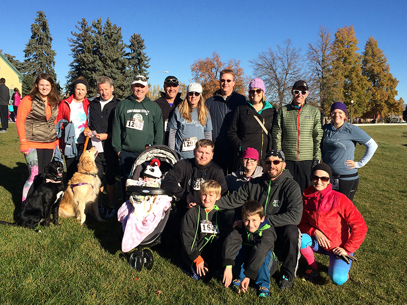 Hyder Participates in the 7th Annual Colorado Coalition for the Homeless 5K   November 10, 2015