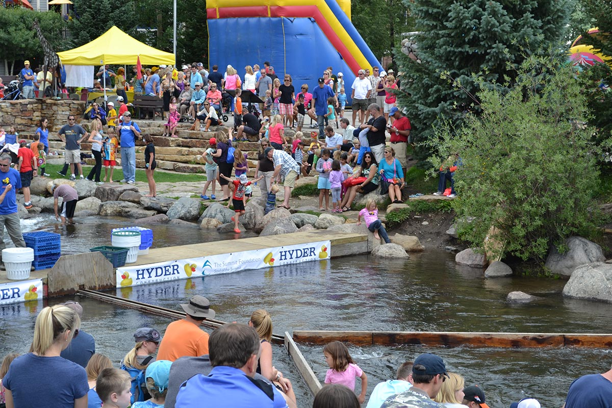 Hyder Donates Time and Construction to Rubber Duck Races    September 10, 2013