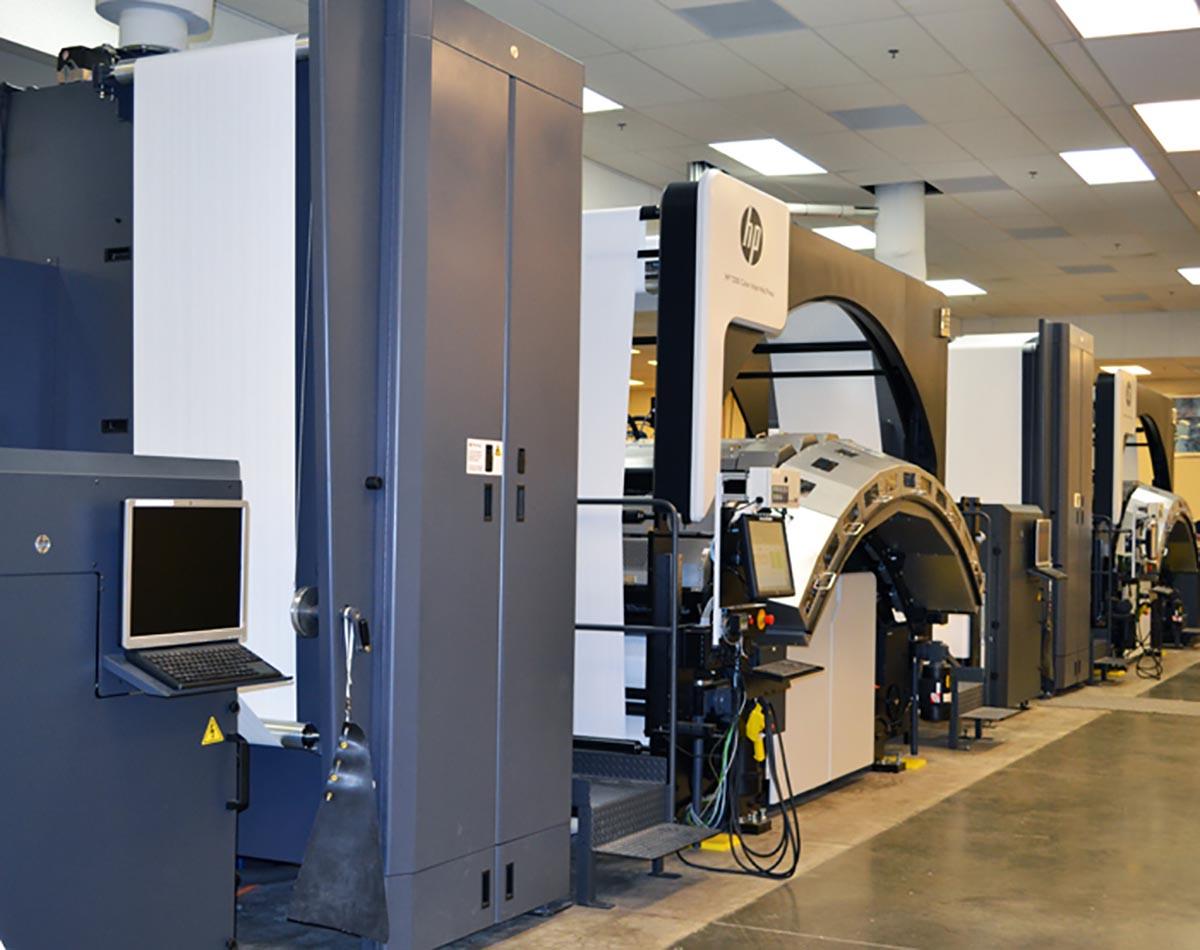 Jeppesen HP T300 Digital Press Installation