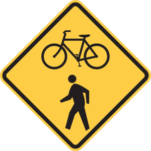 BikePed Sign