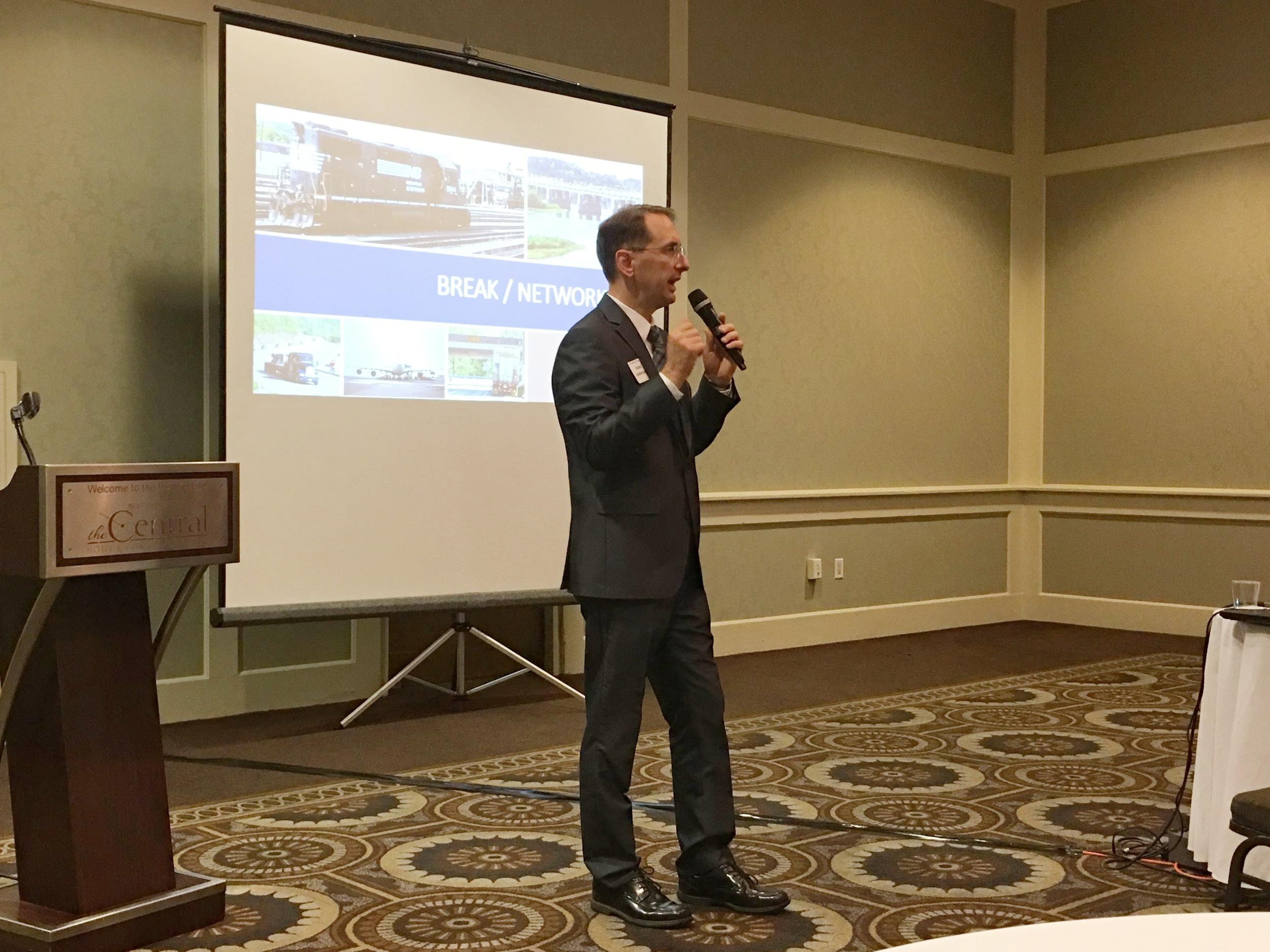 Brian Funkhouser of Michael Baker International speaks about the HATS region's multimodal freight profile.