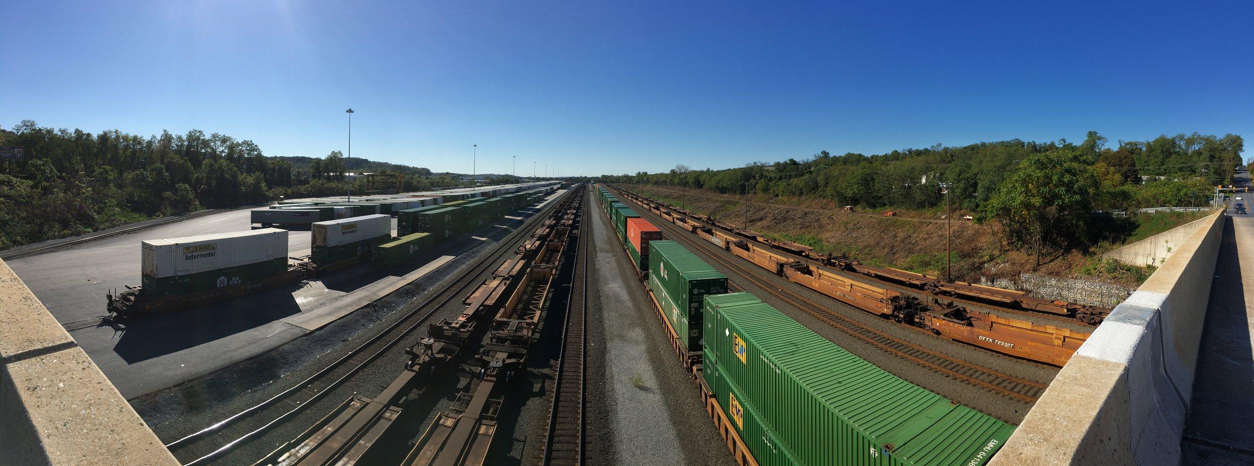 Rutherford Intermodal Yard, Swatara Township