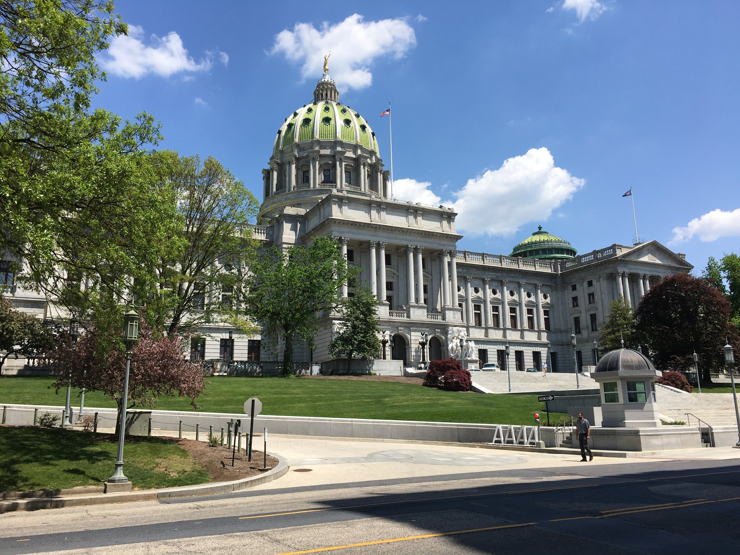 The State Capitol, Harrisburg