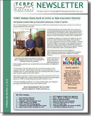 November 2017 Newsletter cover