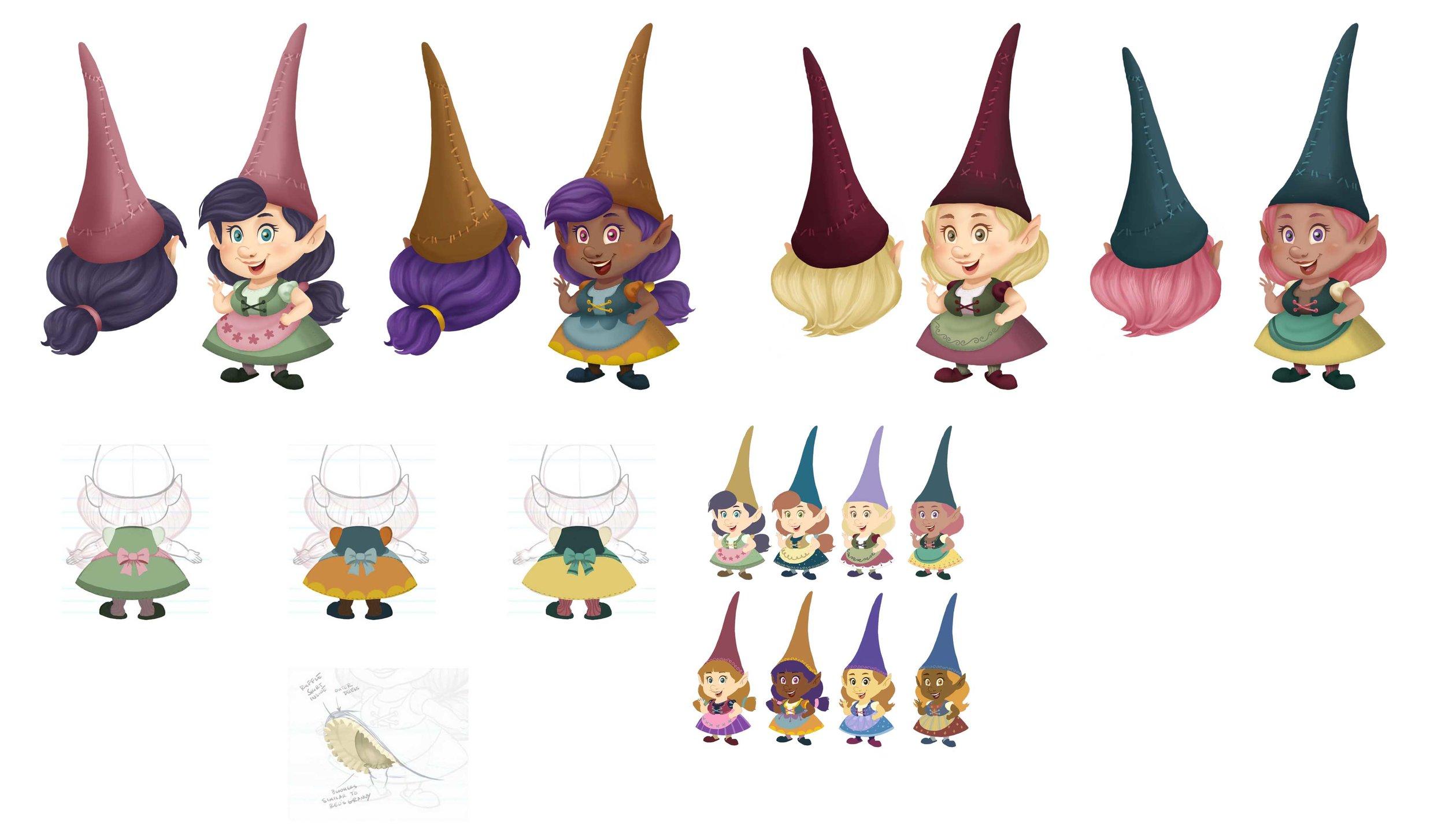 Gnome Cousins