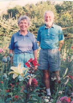 Dick and Peggy Saunders