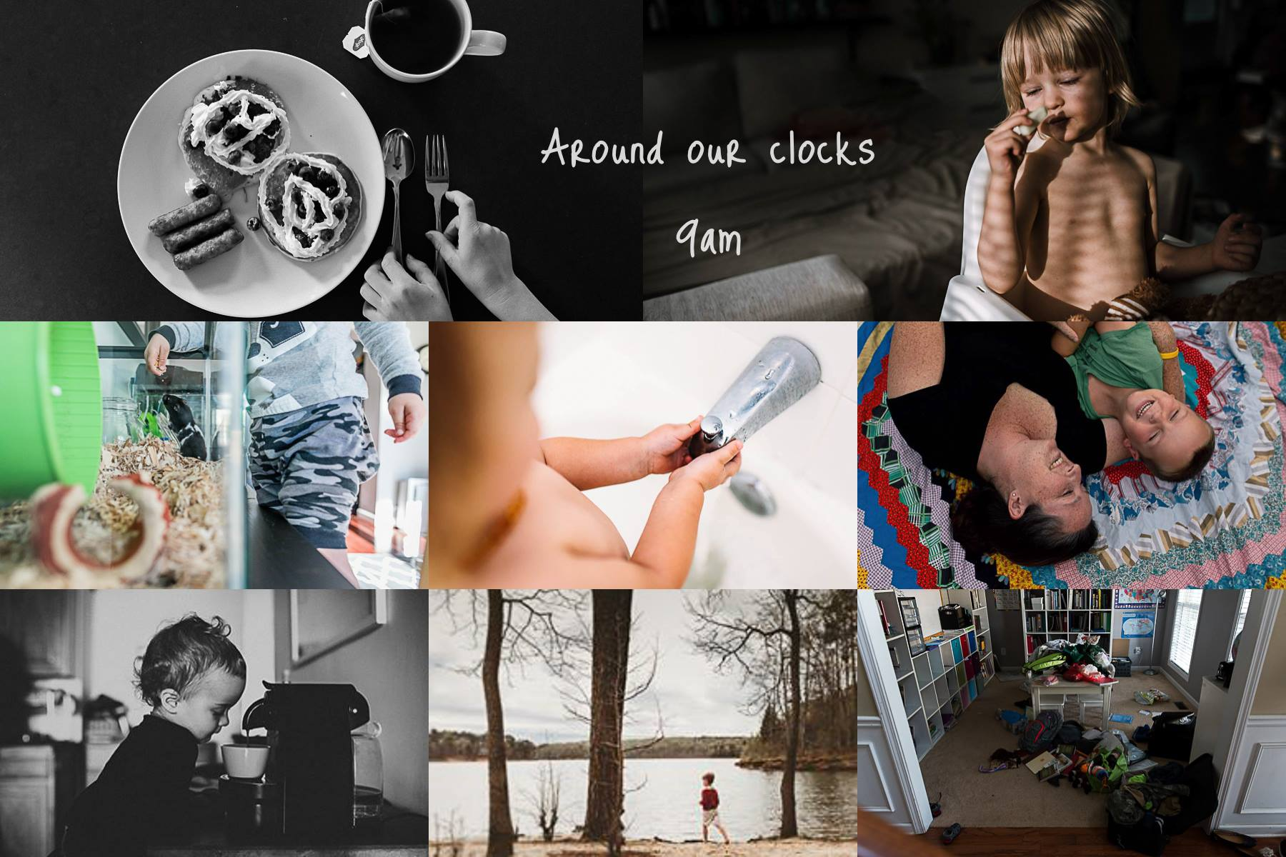 around our clock