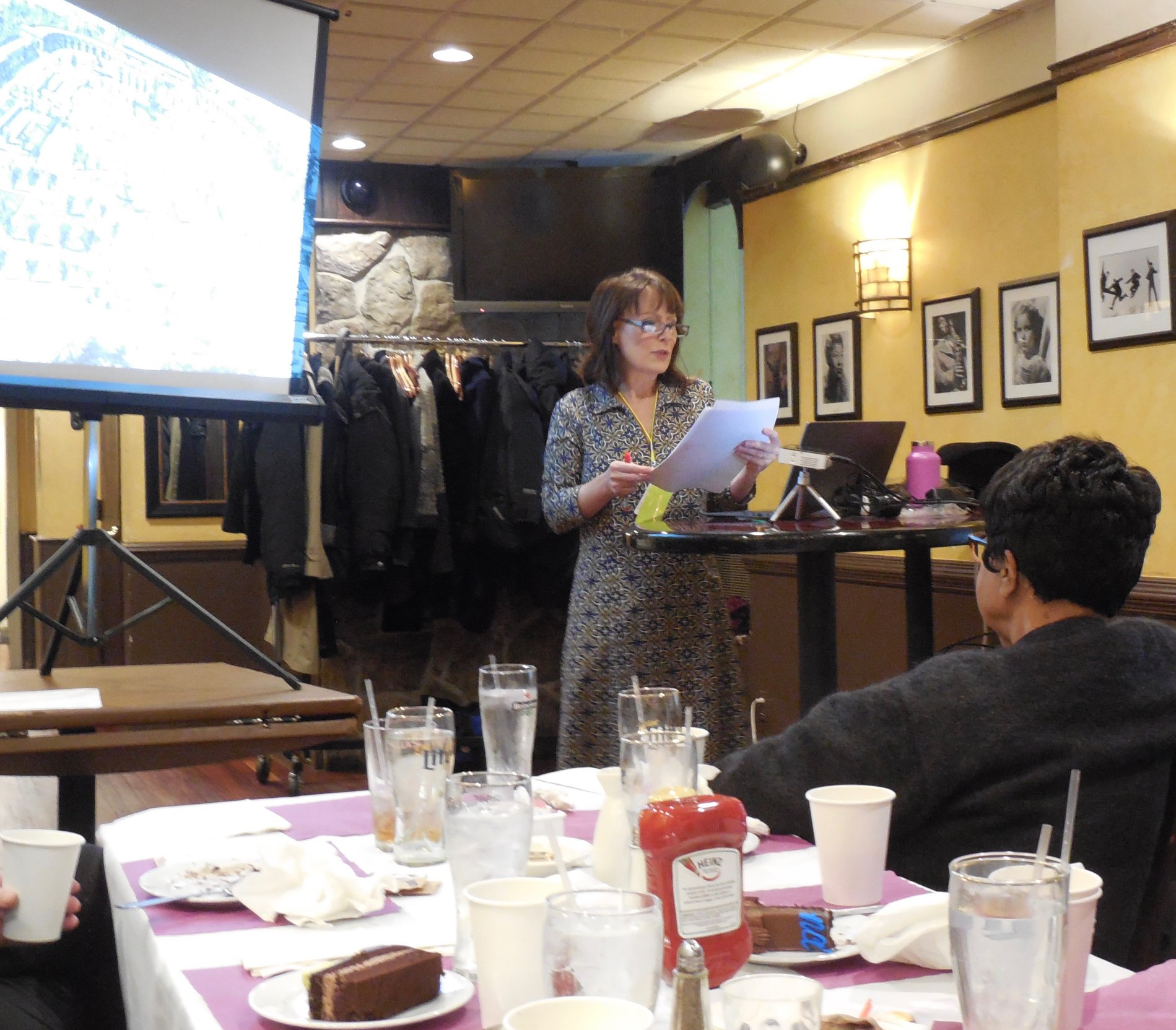 Keynote at Friends of Dickens New York! Celebrating the 206th birthday of Charles Dickens!