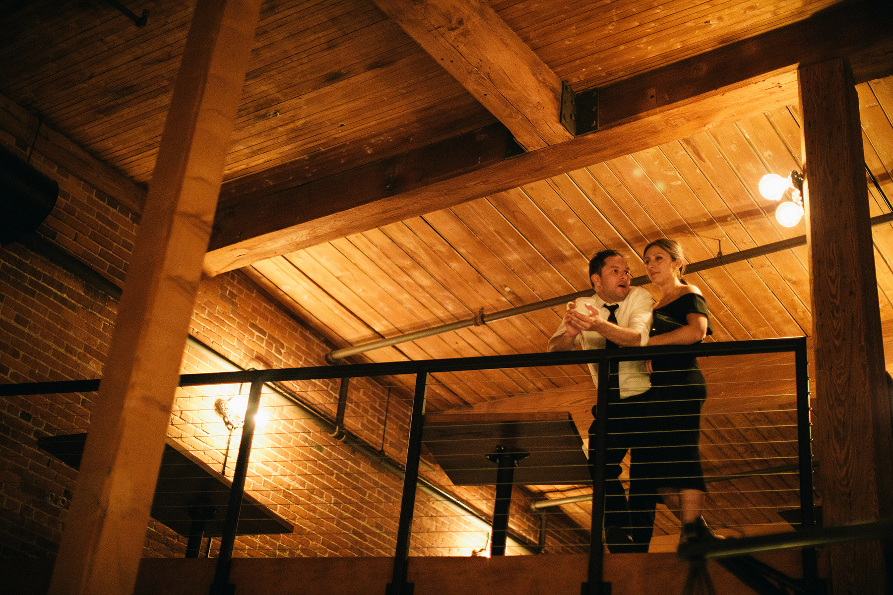 From Above, Wedding of Kira & Scott, Burlington, VT