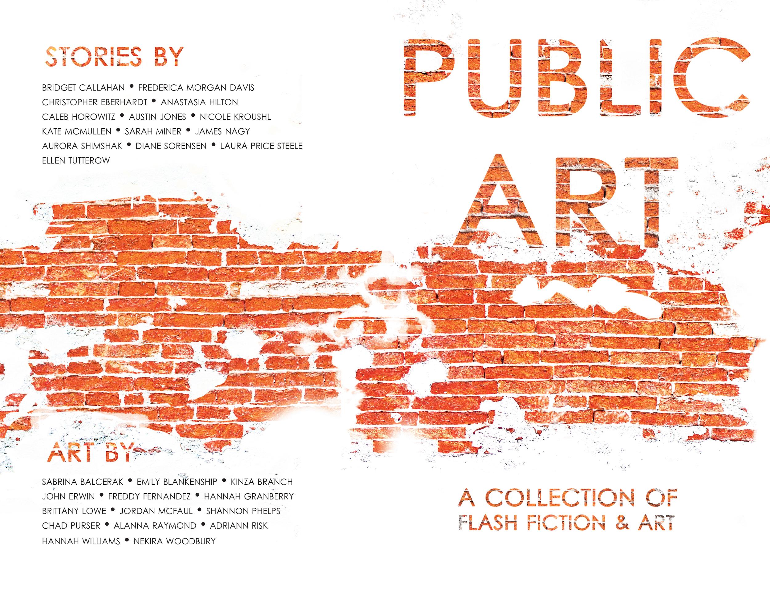 Cover design: Jane Molinary  Publisher: the University of North Carolina Wilmington's Publishing Laboratory  Art Director: John Crawford
