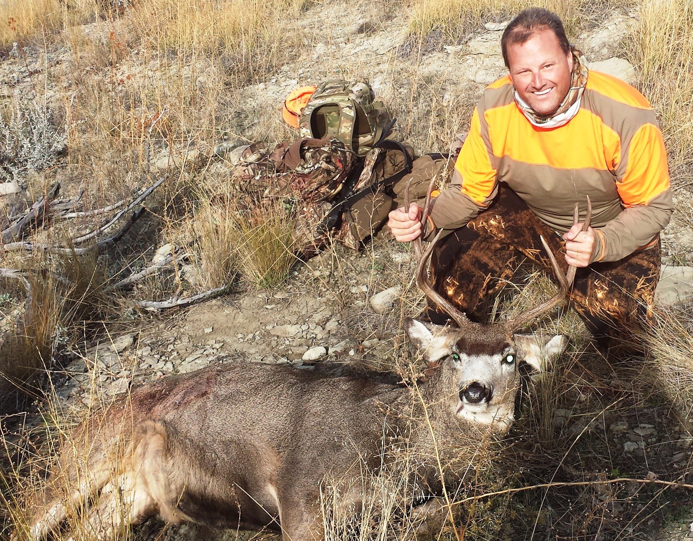 Mule Deer shot near SR1 - October 2015