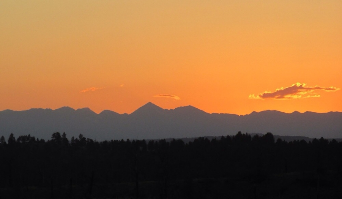 2005 - Sundown over the Crazy Mountains
