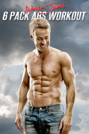 The Adrian James 6 Pack Abs Workout was an international number one app on Apple and Android.