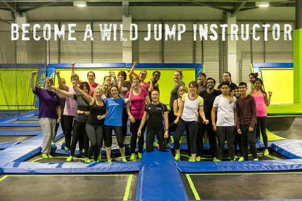 Become a Wild Jump Instructor