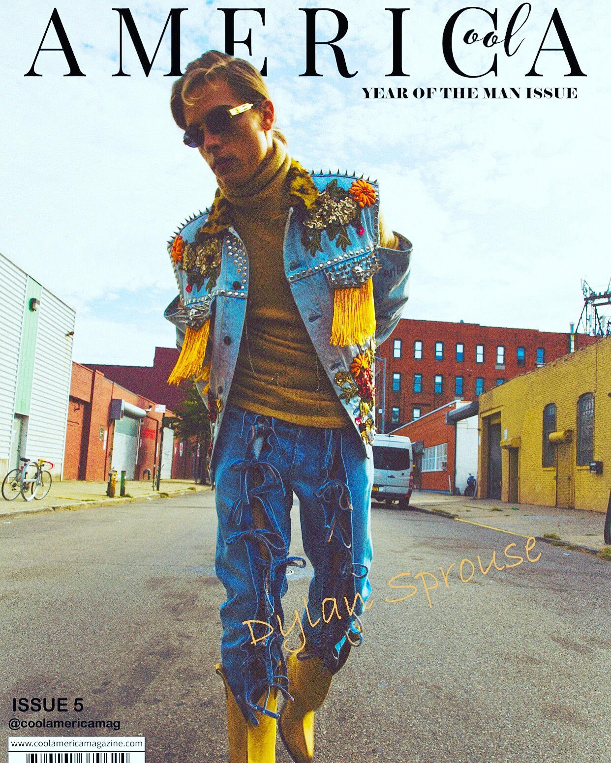 Cover Story w/ Dylan Sprouse (Styled by Mickey Freeman)