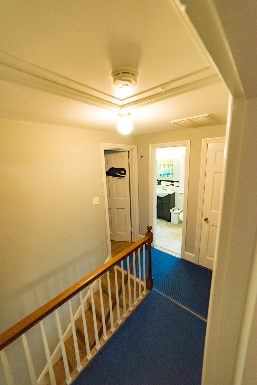 Upstairs Hall and Full Bathroom