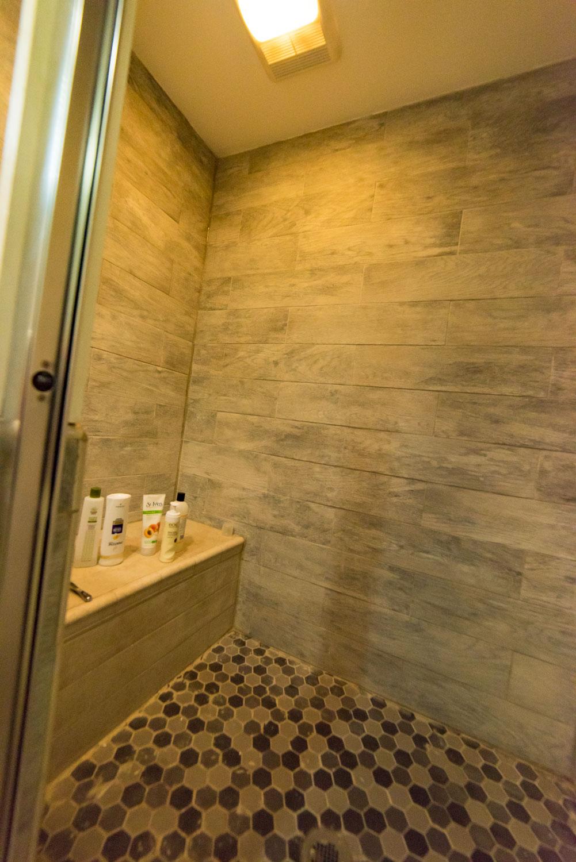 Hillside Apartment Shower
