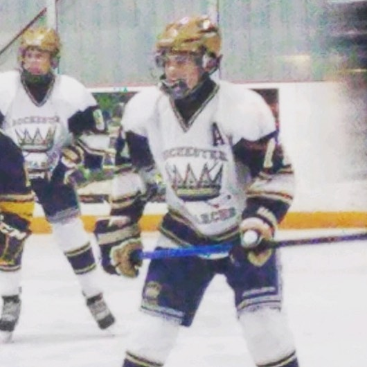 Congrats to one our original members @lletta63_  on making the irondequoit varsity hockey team as an 8th grader! #relentless #goat #athlete #hockey #highschoolhockey