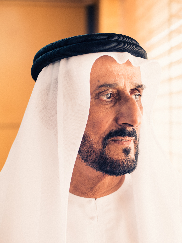 H.E. Sheikh Faisal Al Qassemi for Brownbook Magazine.