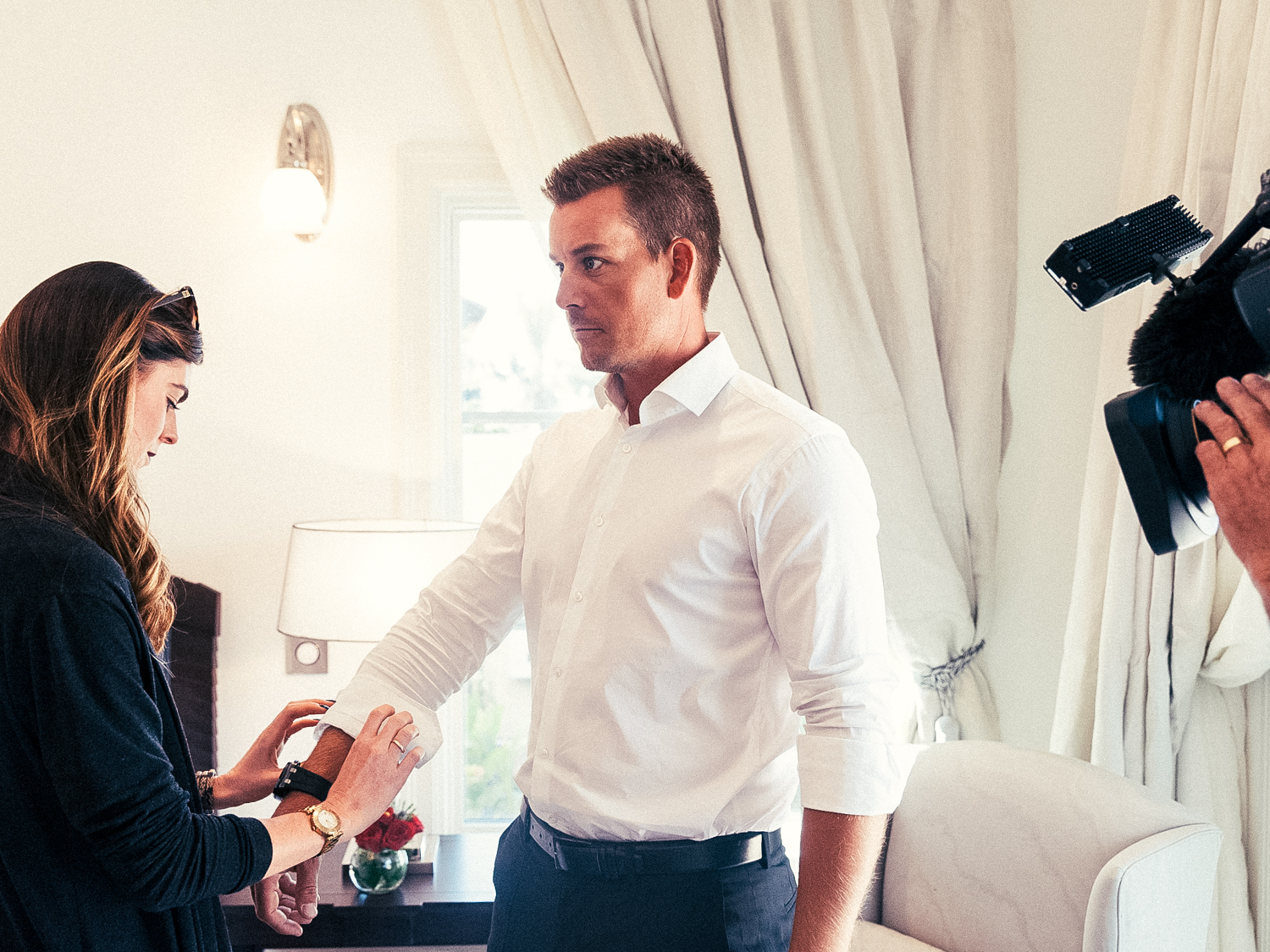 Swedish professional golfer Henrik Stenson for Golf Digest Middle East.