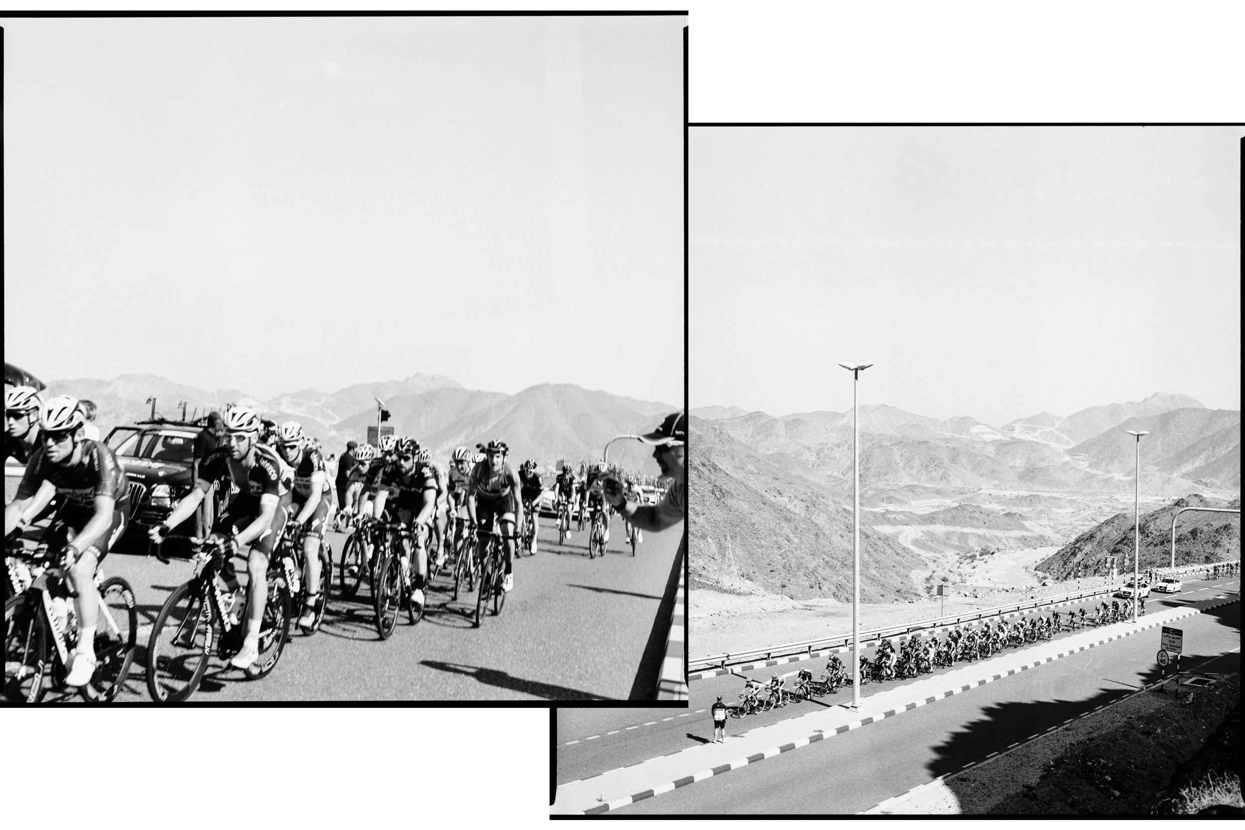 The 2015 Dubai Tour passes through Hatta.
