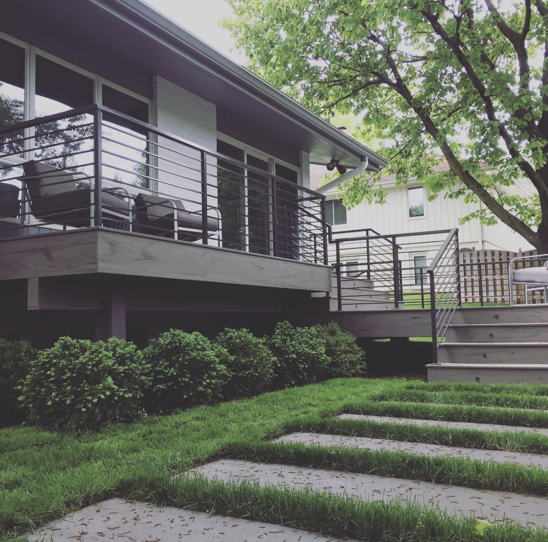 Timbertech Legacy Ashwood deck